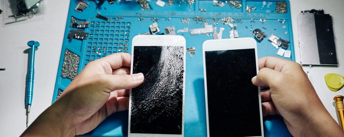 réparation vitre iPhone